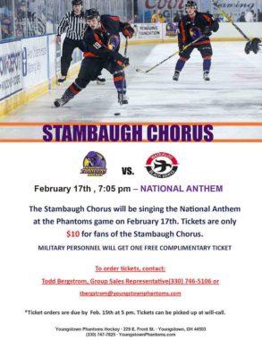 Phantoms Hockey February 2018